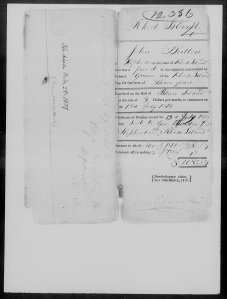 Revolutionary War Pension Application of John Button Page 2