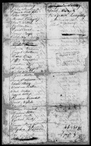 2nd Company Hopkinton RI Militia Page 2