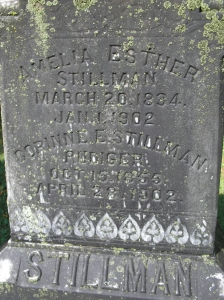 Corinne Edgerton (Stillman) Rudiger Alfred Rural Cemetery