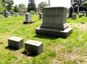 Rudiger Plot in Green-Wood Cemetery, Brooklyn, NY
