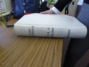 Hopkinton Land Evidence Book