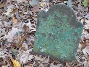 Thompson Wells Lot #44: Thompson's footstone