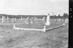 Unknown Cemetery Negative