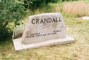 Crandall Family Cemetery, Pound Road, Westerly, RI