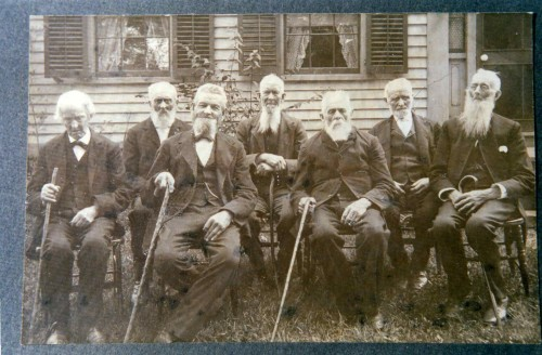 Group of Old Men in Hopkinton, RI
