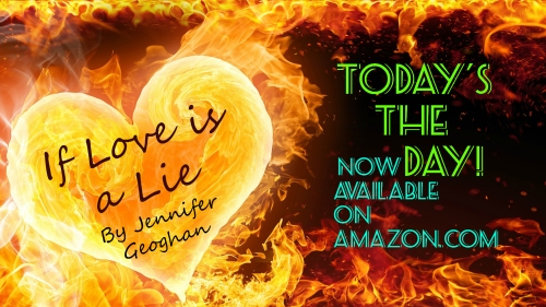 Today's The DAY!  My latest novel is now available on Amazon.com