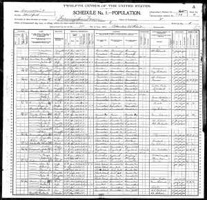 1900 US Federal Census