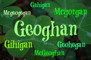 Geoghan variations