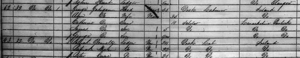 1861 Census Gahigan CU