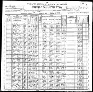 1900 US Federal Census, Fishkill, New York, Matteawan State Hospital